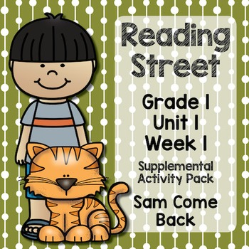 Reading Street - Grade 1 Unit 1 Week 1 Activity Pack