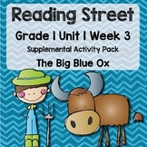 Reading Street - Grade 1 Unit 1 Week 3 Activity Pack