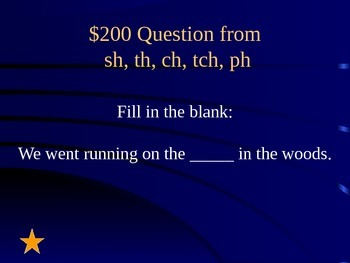 Reading Street Grade 1 Unit 2 Jeopardy-Style Review Game (Part 2)