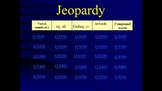 Reading Street Grade 1 Unit 3 Jeopardy-Style Review Game