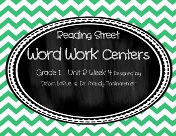Reading Street Grade 1 Unit R Week 4 Word Work