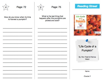 Reading Street - Grade 2: ALL UNITS Trifold Bundle (30)