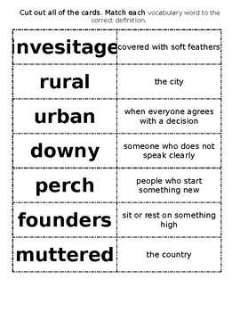 Reading Street Grade 2 - Amazing Words Unit 1
