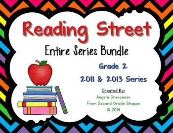 Reading Street, Grade 2, Entire Series BUNDLE 2011 & 2013