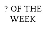 Reading Street Grade 2 - Question of the Week Posters