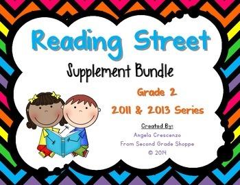 Reading Street, Grade 2, Supplement BUNDLE 2011 & 2013