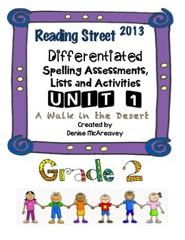Reading Street Grade 2 UNIT 1 A Walk in the Desert Differe