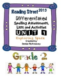 Reading Street Grade 2 UNIT 1 Exploring Space Differentiated Spelling