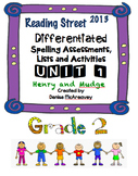 Reading Street Grade 2 UNIT 1 Henry and Mudge Differentiated Spelling