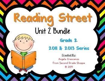 Reading Street, Grade 2, Unit 2 BUNDLE 2011 & 2013