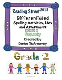 Reading Street Grade 2 Unit 2 Scarcity Differentiated Spelling