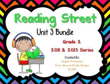 Reading Street, Grade 2, Unit 3 BUNDLE 2011 & 2013