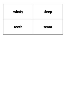 Reading Street, Grade 2, Unit 3 Weekly Spelling Launch: Student Sort Cards