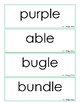 Reading Street Grade 2 Unit 4 Spelling Word Cards