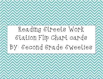 Reading Street Work Station Flip Chart Cards