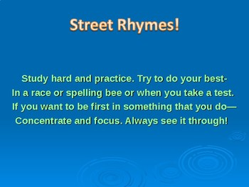 Reading Street, Grade 3, America's Champion Swimmer, 5 day Powerpoint Guide