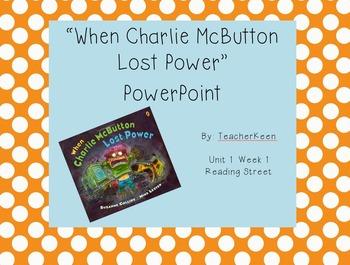 Reading Street Grade 3 - Charlie McButton PowerPoint
