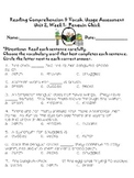 Reading Street Grade 3: Penguin Chick Assessment