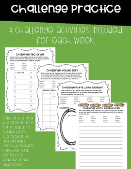 Reading Street Grade 3 Unit 1 Phonics Bundle!