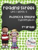 Supermarket Phonics Pack; Reading Street, Grade 3, Unit 1 Week 4
