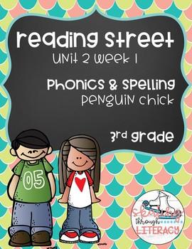Reading Street, Grade 3, Unit 2 Week 1, Penguin Chick Phonics Pack