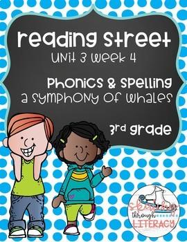 Reading Street, Grade 3, Unit 3 Week 4, A Symphony of Whales Phonics Pack