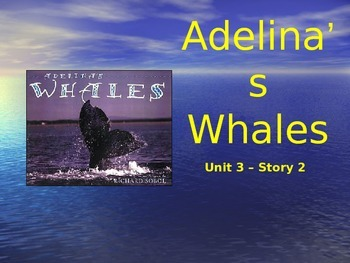 Reading Street Grade 4 Adelina's Whales Spelling PowerPoint