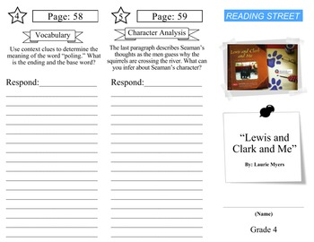 Reading Street - Grade 4: ALL UNITS Trifold Bundle (30)