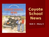 Reading Street Grade 4 Coyote School News Spelling PowerPoint