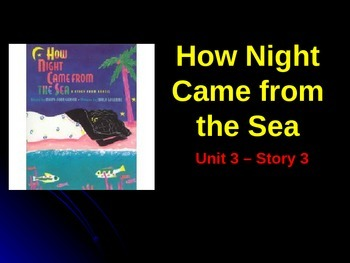 Reading Street Grade 4 How Night Came from the Sea Spelling PowerPoint
