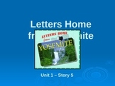 Reading Street Grade 4 Letters Home from Yosemite Spelling PowerPoint