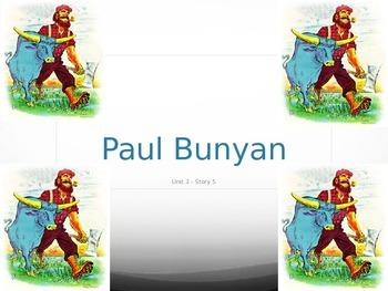 Reading Street Grade 4 Paul Bunyan Spelling PowerPoint