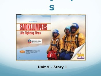 Reading Street Grade 4 Smokejumpers Spelling PowerPoint