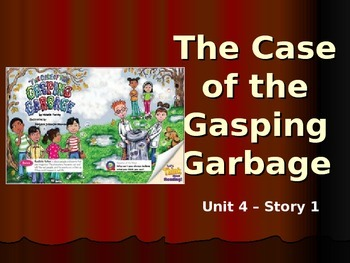 Reading Street Grade 4 The Case of the Gasping Garbage Spelling PowerPoint