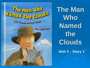 Reading Street Grade 4 The Man Who Named the Clouds Spelli