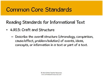 Reading Street Grade 4, Unit 1, Hurry Freedom Common Core Standards