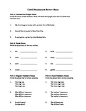 Reading Street Grade 4 - Unit 2 - Grammar Review Worksheet
