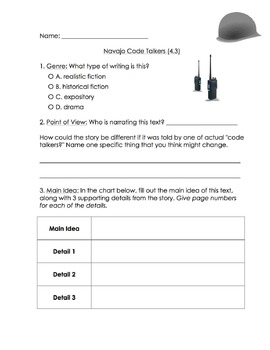 Reading Street Grade 4, Unit 4 (Common Core adapted)