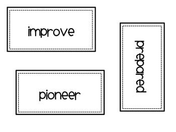 Reading Street Grade 4 Vocabulary and Amazing Words - Unit 1