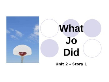 Reading Street Grade 4 What Jo Did Spelling PowerPoint