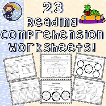 23 Reading Comprehension Worksheets! (Reading Street - Gr. 5)