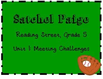 Reading Street: Grade 5: Satchel Paige activities-Unit 1 M