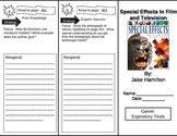 Reading Street Grade 5 The Special Effects in Film and Television Trifold