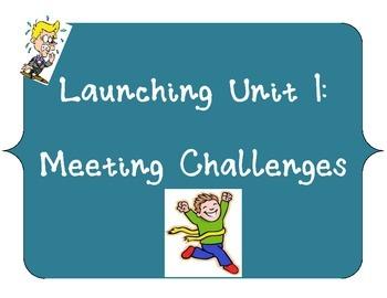 Reading Street, Grade 5 Unit 1 Launch Activities