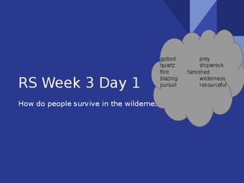 Reading Street Grade 5 Unit 1 Week 3 Island BUNDLE Days 1-3 Power Point