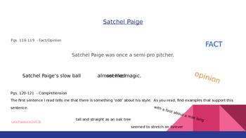 Reading Street Grade 5 Unit 1 Week 4 Day 2 Satchel Paige Power Point