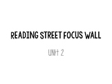 Reading Street Grade 5 Unit 2 Focus Wall