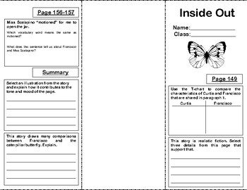 Reading Street Grade 5 Unit 2: Inside Out Trifold