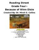 Reading Street Grade Four ~ Because of Winn Dixie Literature Packet