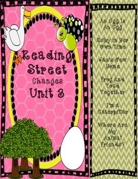 Reading Street Grade One Labels/Portrait